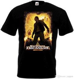Logo Shirts For Men Australia - 2018 Best T Shirts National Treasure 1 ver.1 T-shirt black Movie Poster all sizes S...5XLBand Logo Tee Shirt For Men