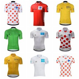 men shirts 4xl 2019 - TOUR DE FRANCE Men Cycling Jersey Short Sleeve Breathable Comfortable Bicycle clothes High Quality Bike Outdoor Shirts K