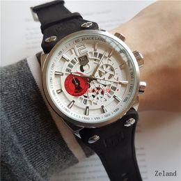 Blue running watches online shopping - TG Watch Run Seconds Quartz Movement Diameter mm Wristwatch Brand Man Watches Luxury Waterproof Stopwatch Chronograph Wristwatch LU