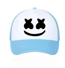 40ab51d6547 DHL Summer cute Mesh Baseball Cap for women men couple sun hat Trucker  Snapback outdoor Caps