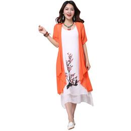 $enCountryForm.capitalKeyWord UK - Summer New Dress Women Clothing Small Fresh Long Dress Fake Two Pieces Dress Loose Big Size Vestidos Elbise Robe designer clothes