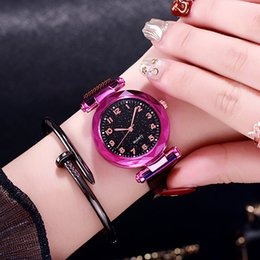 $enCountryForm.capitalKeyWord Australia - Luxury Exquisite Magnet Magnetic Force Unique Creative Band Women Quartz Watches Ladies Dress Wristwatches Watch reloj mujer