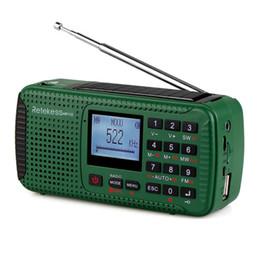 $enCountryForm.capitalKeyWord Australia - Hand Crank Emergency SOS Radio Rechargeable Outdoor Solar FM AM SW Radios Music Player Audio Recorder