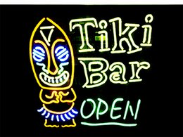 Tiki Lights Australia - New Star Neon Sign Factory 24X20 Inches Real Glass Neon Sign Light for Beer Bar Pub Garage Room Tiki Bar Open.