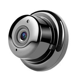 Chinese  New HD High Wi-Fi Storage 360 Degree VR Panoramic Fisheye Webcam AP Hot Spot Mini Wireless Monitor Security Camera manufacturers