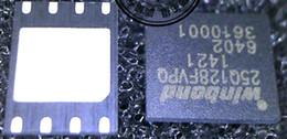 Flash Drive Ic Australia - W25Q128FVPIQ W25Q128FVPQ 25Q128FVPQ WSON8 16MB Flash chip BIOS Memory genuine chip quality assurance
