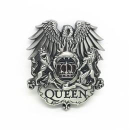 $enCountryForm.capitalKeyWord Australia - QUEEN west buckle eagle lion metal GuXi ecru agio men for 4.0 CM belt