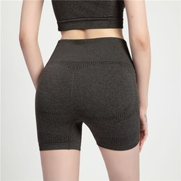 sexy black women booty NZ - Sexy Seamless Sport Shorts Women Black Dry Fit Elastic Short Compression High Waist Gym Fitness Shorts Booty Yoga Booties