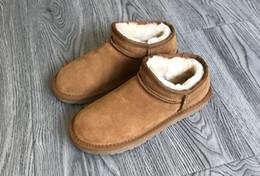 $enCountryForm.capitalKeyWord NZ - Women Genuine Leather Boots Winter Shoes Super Warm Snow Boots Women Ankle Boots For Female Winter Shoes Plush Booties