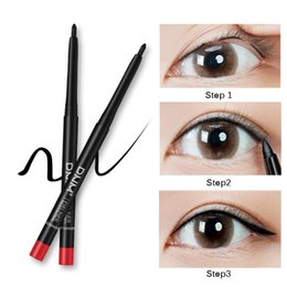professional eye pencils NZ - Professional Makeup Balck Eyeliner Pencil Waterproof Long Lasting Eye Liner Pen Makeup Cosmetics