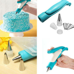 icing pipes Australia - Pastry DIY Cake Decorating Pen Icing Cake, Chocolate, etc Piping Tips Nozzles Bag Home, Kitchen, etc Tool