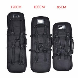 Shoulder Straps Backpack NZ - 85cm 100cm 120cm Outdoor Hunting Bag Dual Rifle Square Carry Bag Tactical Shoulder Strap Gun Protection Backpack Gun Carry #263409