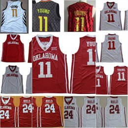 5f6a45465fb4 2019 Mens 2018 NEW NCAA Oklahoma Sooners Trae Young College Basketball  Jerseys Stitched  24 Buddy Hield Oklahoma Sooners Jerseys S 3XL From  Mickijerseys