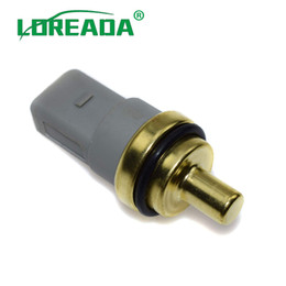 wholesale temperature switch UK - 06A919501A New Temperature Sensor Sender Switch For Audi Seat Skoda Engine Coolant 95510612501 OE# 06A 919 501A   06A 919 501