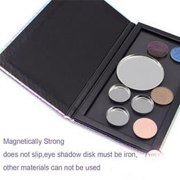 Blush Refill Australia - DIY Makeup Palette Box 7*3.9*0.39 Inch Fish-Scale Pattern Refill Palette Empty Magnetic Face Eyeshadow Blush Lipstick Powder Foundation Case