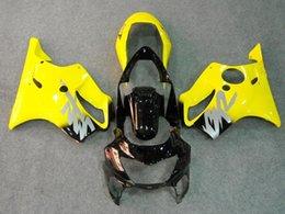 Honda F4 Yellow Australia - New Injection ABS bike Fairings kits for HONDA CBR600F4 99-00 CBR 600 F4 FS CBR600FS CBR 600F4 F4 99 00 1999 2000 nice yellow black