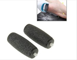 Wholesale 2pcs Replacement Roller Heads Extra Coarse Pedicure Dead Skin Remover Shaver Tools For Electric Grinding Machine File