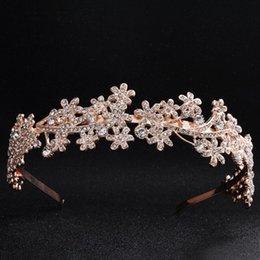 $enCountryForm.capitalKeyWord Australia - Rhinestone Crystal Bridal Headwear Silver Gold Headband Headdress Head band Wedding Jewelry Fashion Wedding