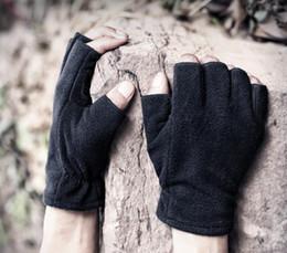 $enCountryForm.capitalKeyWord Australia - Roller velvet half-finger gloves for men and women in winter