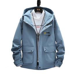 $enCountryForm.capitalKeyWord Australia - 2019 New Spring Summer Mens Fashion Outerwear Windbreaker Men Thin Jackets Hooded Casual Sporting Coat Big Size S-XXXL