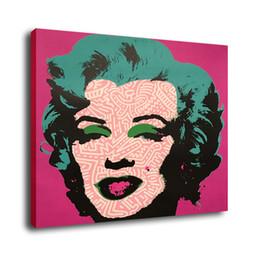 $enCountryForm.capitalKeyWord Canada - Cartoon Art Marilyn Monroe,Oil Painting Reproduction High Quality Giclee Print on Canvas Modern Home Art Decor
