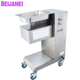 machine cube NZ - BEIJAMEI Stainless steel Commercial Meat Cutting Slicing Cube Machine 500kg h Electric Meat Slicer Cutter Price