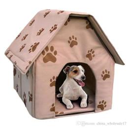 $enCountryForm.capitalKeyWord Australia - Gomaomi Portable Folding Dog House Cat Bed for Small Dog Puppy Pet Supply