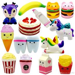$enCountryForm.capitalKeyWord Australia - Squishy toys deer, banana hamburger popcorn ice cream, milk Decor Slow Rising Squishies Free Shippingping666