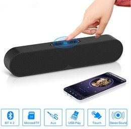 Subwoofer Stereo Input Australia - Speakers Wireless Bluetooth Speaker Portable subwoofer 3D Outdoor Stereo Speaker for 3.5mm interface TF Card for phone