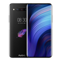 "El teléfono celular Nubia Z20 4G LTE 6 GB de RAM 128 GB ROM Snapdragon 855 Plus Android Teléfono de la huella digital 48.0MP Face ID móvil 6.42"" de doble pantalla en venta"
