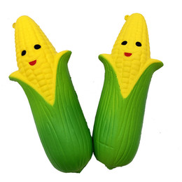 Discount price plastic toys - Corn Squishy smile Corn aroma Slow Rising Kids Toys top quality Stress Relief Toy Kids funny toys factory price