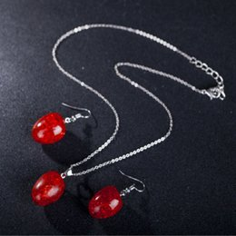 $enCountryForm.capitalKeyWord Australia - Europe and the United States 2017 drop pendant earrings necklace jewelry beeswax explosion speed sell hot style