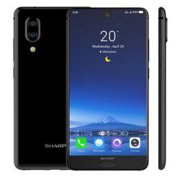 "Wholesale Original SHARP AQUOS S2 4G LTE Cell Phone 4GB RAM 64GB ROM Snapdragon 630 Octa Core Android 5.5"" 12MP NFC Fingerprint ID Smart Mobile Phone"