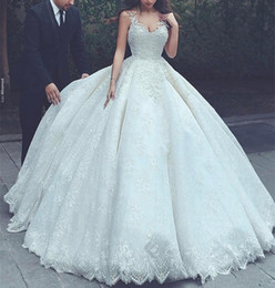 Discount wedding dresses feathers skirts - Luxury Sexy Custom Made s Berta Spaghetti Straps Full Lace Appliqued Bridal Gown Ladies Fashion Wedding Dresses