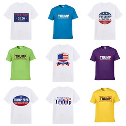 diy clothes tags NZ - Top Summer Spring Designer =2020 Brand Tag Clothing Men'S Fabric Letters Trump T-Shirt Lapel Collar Casual Women'S Paris T Shirt #998