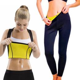 Slim Suits Sale Australia - 2018 New Women Yoga Sport Suit Slimming Set 2 Piece Female Slim Shirt Vest Hot Sale Sportswear Running Fitness Training Clothing Y190508