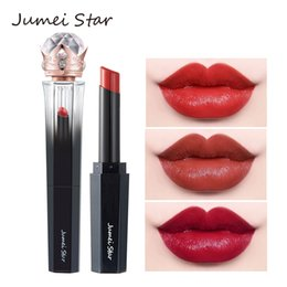 $enCountryForm.capitalKeyWord NZ - Black Diamond Nude Lip Stick Waterproof Matte Lipstick Korean Style Gifts For Women Makeup Moisturizing Sexy Red Lip Tint