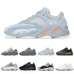 China Baby Shoes Kanye West Running Shoes Boys Girls Sneaker Wave Runner Sport Shoe fashion luxury mens women designer sandals shoes cheap running sandals suppliers