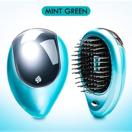 $enCountryForm.capitalKeyWord Australia - Household and Travel Electric Ion Hair Brush Hair Massage Comb Home Travel Beauty and Health Hair Styling Tools