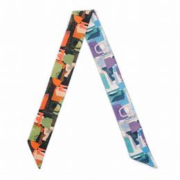 $enCountryForm.capitalKeyWord Australia - ELENI&ANNIE 34 Inch New Design Hand Band,Hat Wrap,Neck Scarf,Hair Tie Band, Satin Scarf,Handbag Ribbon,Summer Scarf