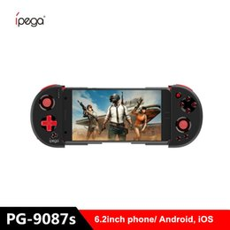 tablet pc controllers UK - iPEGA PG-9087s Bluetooth Gamepad for Android   IOS Smart Phone PG 9087s Extendable Game Controller for Tablet PC Tv Box T191227