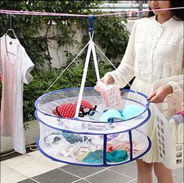 $enCountryForm.capitalKeyWord Canada - Double closed clothesnet drying basket for drying clothes basket flat clotheshanger net pocket