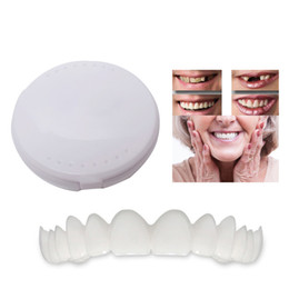 Wholesale Cosmetic Dentistry Snap On Smile Instant Smile Comfort Fit Flex Cosmetic Teeth One Size Fits Most Comfortable Denture Care