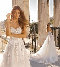 $enCountryForm.capitalKeyWord NZ - 2019 Modest Lace Appliques A-Line Wedding Dresses Sparkly Strapless Lace Bridal Gowns Court Train Plus Size