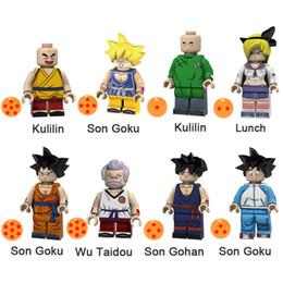 $enCountryForm.capitalKeyWord Australia - Dragon Ball Z Kulilin Son Goku Launch Wu Taidou Son Gohan Mini Action Figure Toy Building Block Bricks