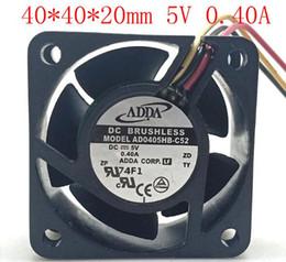 $enCountryForm.capitalKeyWord Australia - ADDA 4cm 4020 5V 0.40A AD0405HB-C52 Three-wire Double Ball High Speed RD Fan Switch Router Fan