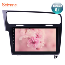 Vw Stereos Android Australia - Seicane Android 8.1 10.1 inch For 2013 2014 2015 VW Volkswagen Golf 7 Car Radio GPS Navi Stereo Multimedia Player WIFI 2Din