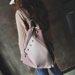 a3296caab4fa School Backpacks 2019 Cute Backpack For Teen Girl Bucket Backpack Stitch High  Quality Travel Bag Fashion Women Bag Big Rucksack