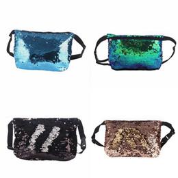 Ladies Pack Australia - Fashion Lady Color Sequined Waist Packs Pocket Ladies Outdoor Running Sports Messenger Waist Pack Travel Sport Belt Bags Female