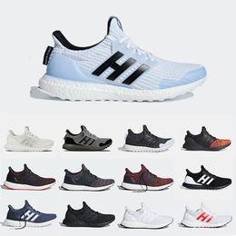 Blue running watches online shopping - Game of Thrones Ultra Boost Mens Running shoes Night s Watch House Stark Lannister Targrayen Primeknit sports trainer men women sneakers